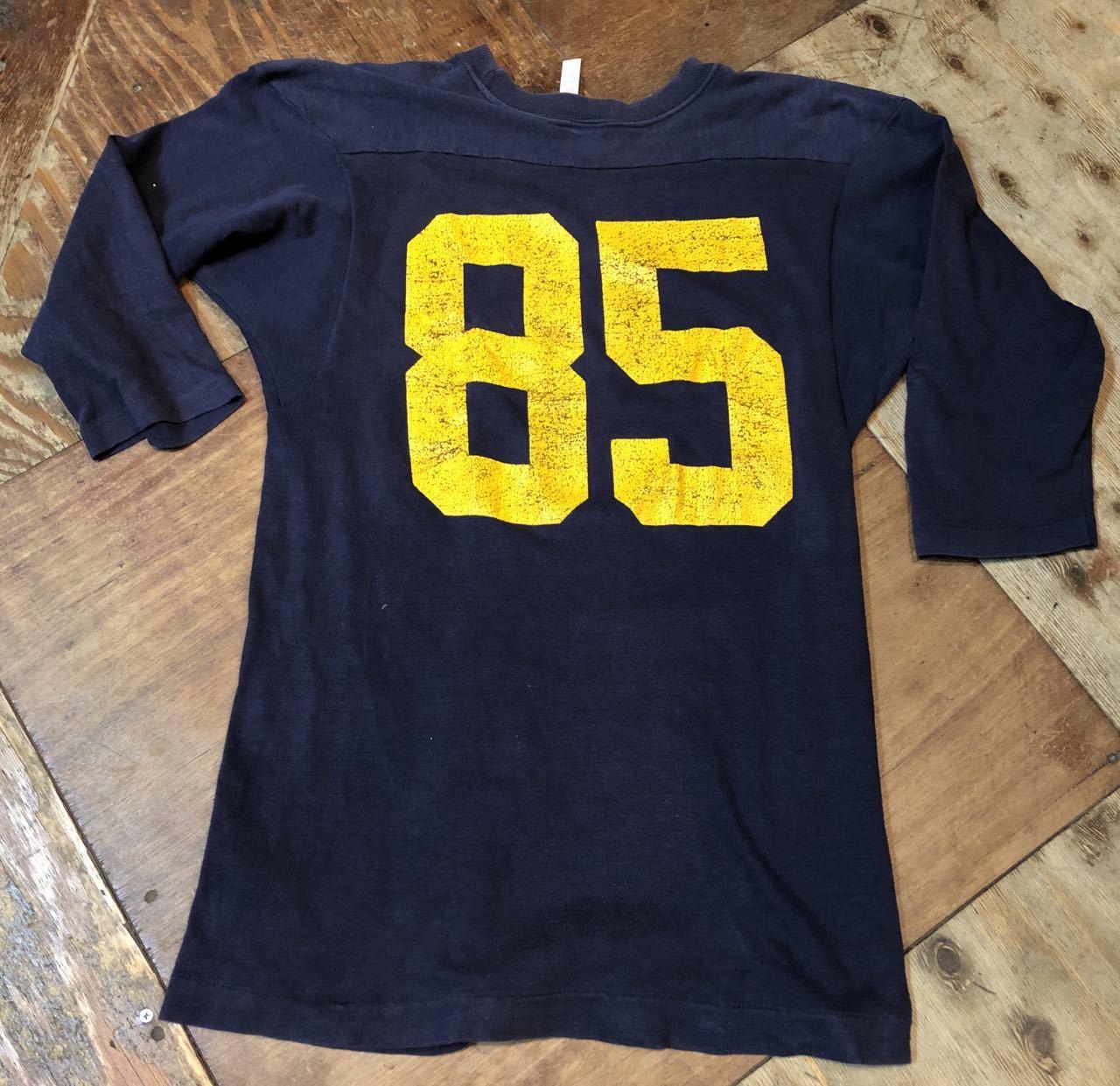 4月29日(月)入荷!80s all cotton  チャンピオン champion トリコタグ フットボールTシャツ!_c0144020_19264284.jpg