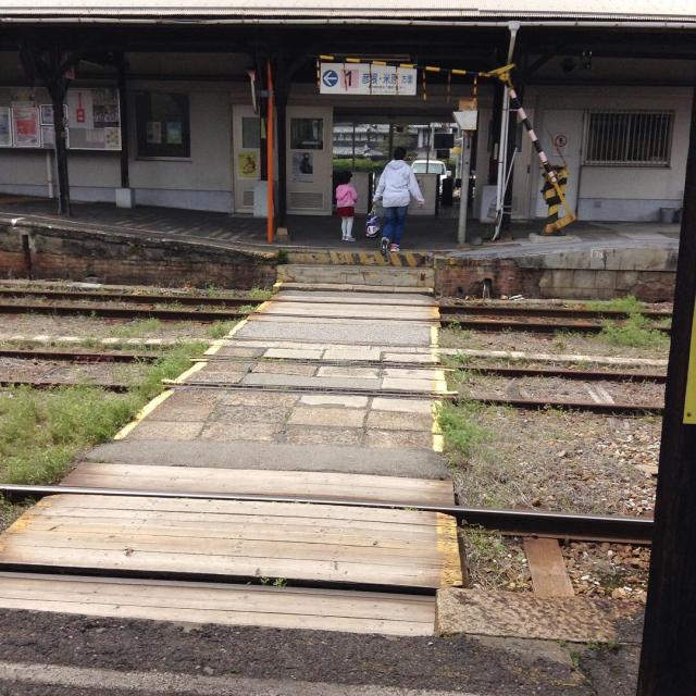 時が止まったかのような、近江鉄道高宮駅。_a0334793_22133853.jpg