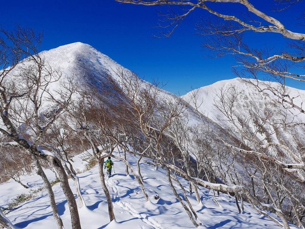 野塚岳とオムシャヌプリ、2019.4.28ー速報版ー_f0138096_21351013.jpg