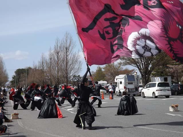 秋田県大潟村菜の花ロード_f0019498_18431484.jpg