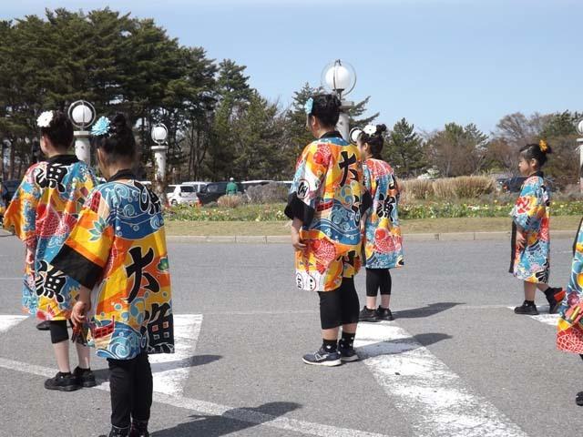 秋田県大潟村菜の花ロード_f0019498_18440178.jpg