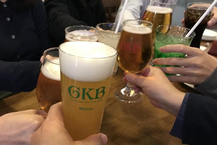 御殿場ビール合宿。大勢で飲み食いは楽しいネ♪_c0212604_3375247.jpg
