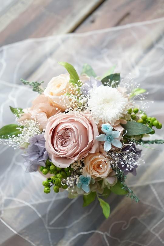アレンジ ご結婚祝いに!_a0136507_21481973.jpg