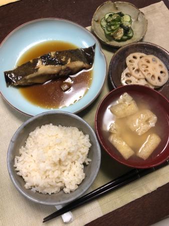 カレイの煮付け_d0235108_20110447.jpg