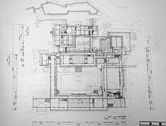 吉村順三が設計した宮殿_c0195909_10371281.jpg