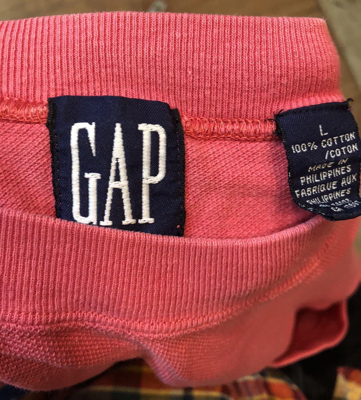 4月30日(火)入荷! 80s 鹿の子 OLD GAP ポケットTシャツ!_c0144020_19253224.jpg
