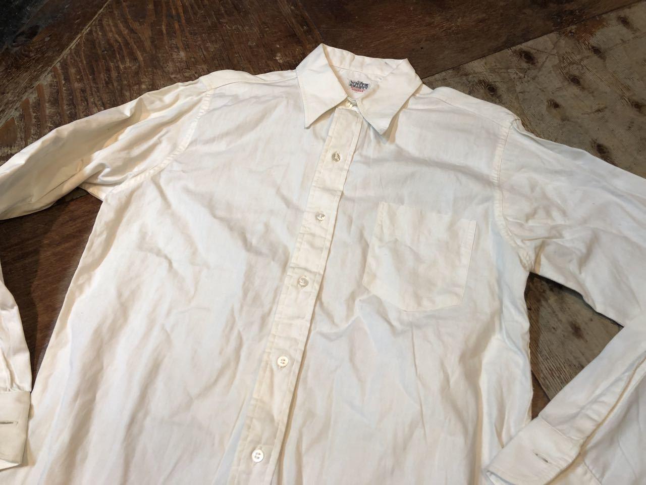 4月30日(火)入荷!40s〜 all cotton マチ付き ブロードクロス シャツ!_c0144020_19334621.jpg