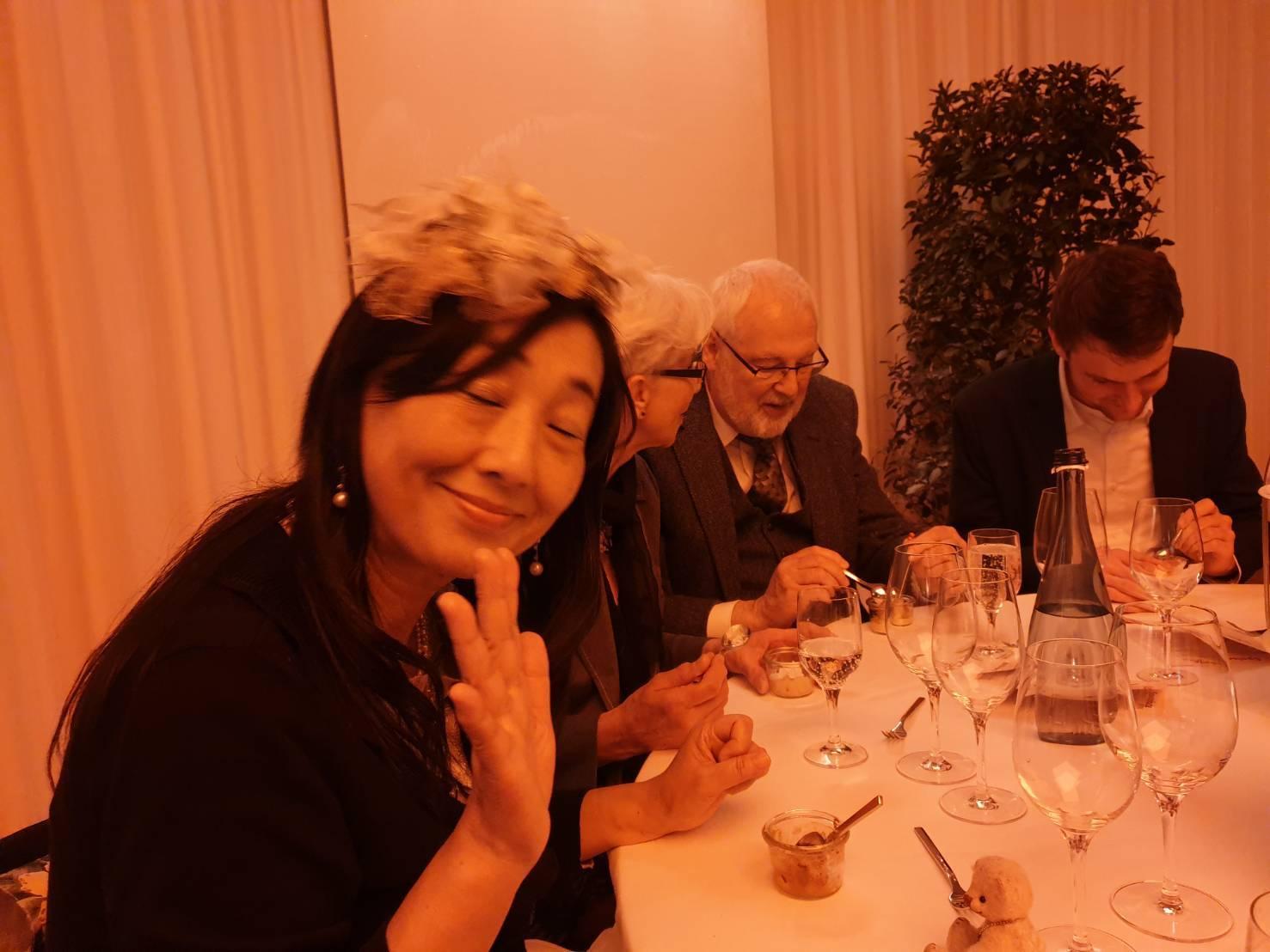 ドイツ、テディベアトータルの祝賀会にて。_c0173826_14565304.jpg
