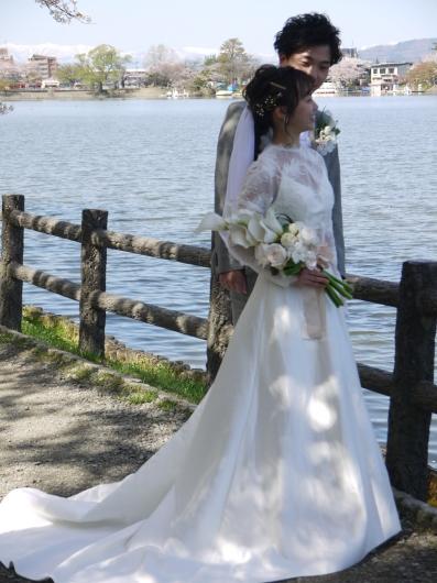 盛岡高松の池にて結婚式前撮り撮影会_a0123133_17170240.jpg