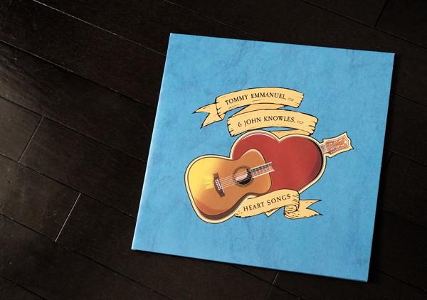 しみじみするのはじつに結構なことであるよ(Heart Songs / Tommy Emmanuel & John Knowles)_d0027243_07142824.jpg