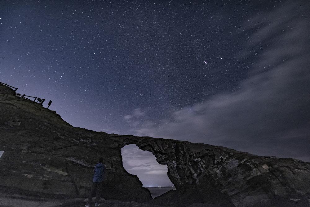使用記〜城ヶ島 馬の背洞門で星景写真_b0400557_17255739.jpg