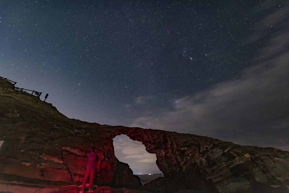 使用記〜城ヶ島 馬の背洞門で星景写真_b0400557_17255797.jpg