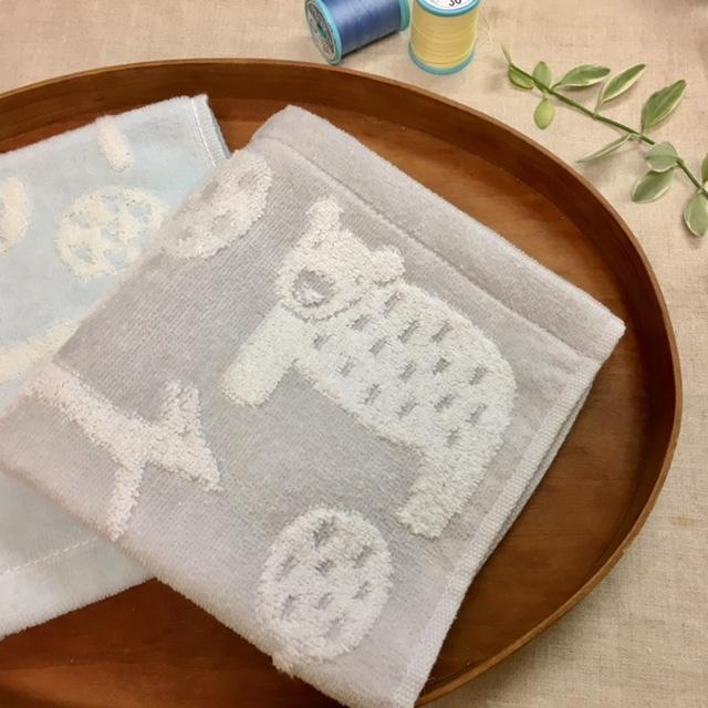 hand towel   スタイにリメイク♪_a0165160_18315519.jpg