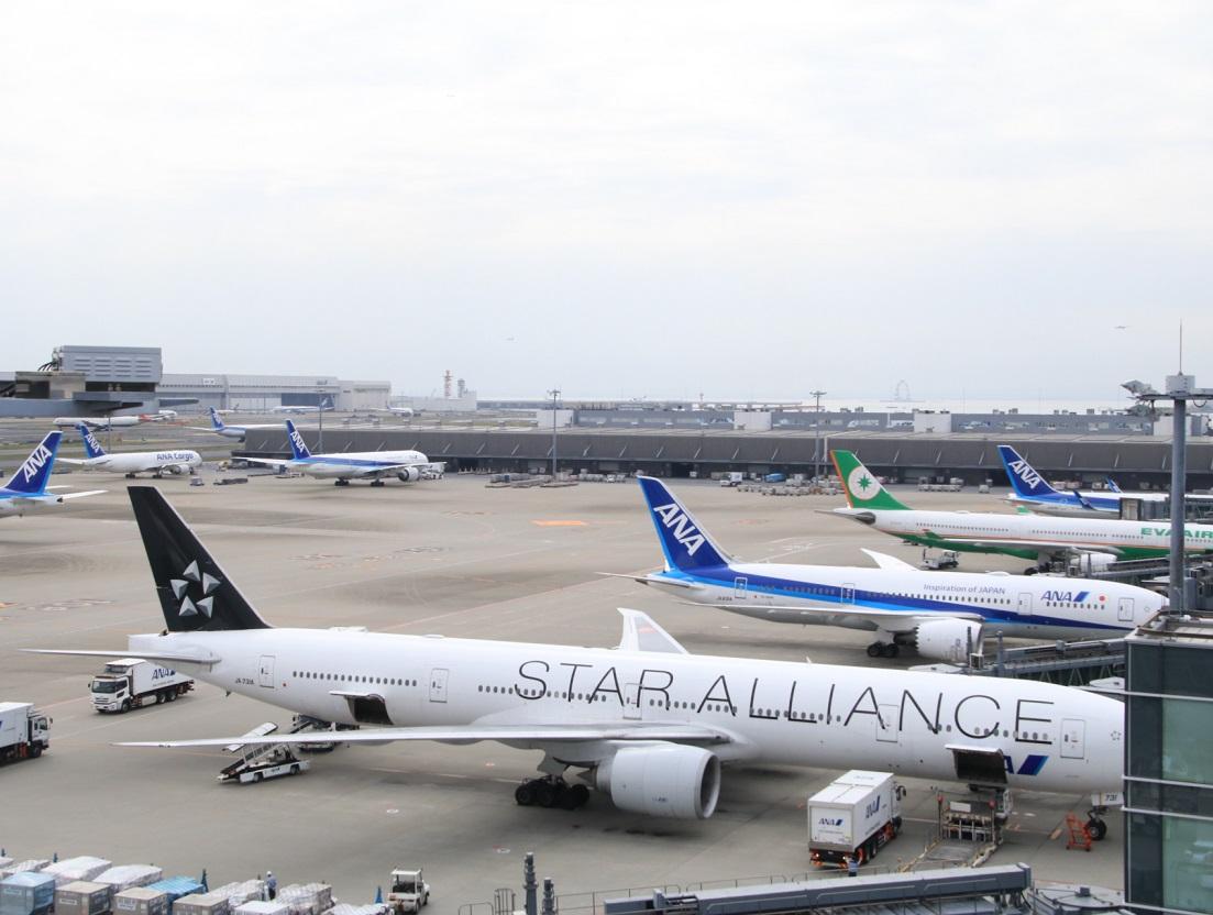2019年4月 羽田空港 3タミ_d0202264_418526.jpg