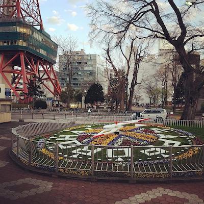 札幌の花時計と豊平館のこと<さっぽろヒストリー>_a0293265_17053936.jpg
