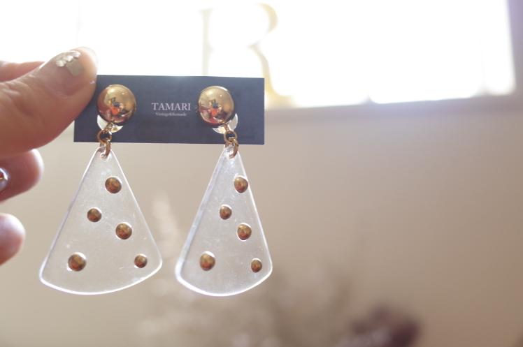 TAMARI☆pierce&earring☆入荷しました_e0269968_17203777.jpg
