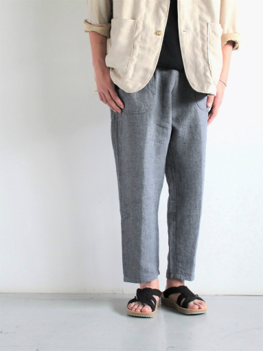 SLOW HANDS Lin/co Gray Twill Daytripper Pants_b0139281_11594121.jpg