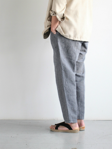 SLOW HANDS Lin/co Gray Twill Daytripper Pants_b0139281_11594695.jpg
