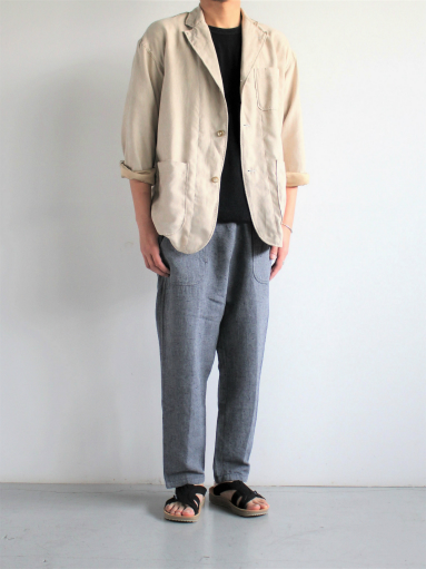 SLOW HANDS Lin/co Gray Twill Daytripper Pants_b0139281_1202876.jpg