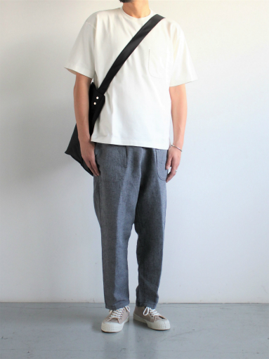 SLOW HANDS Lin/co Gray Twill Daytripper Pants_b0139281_120718.jpg