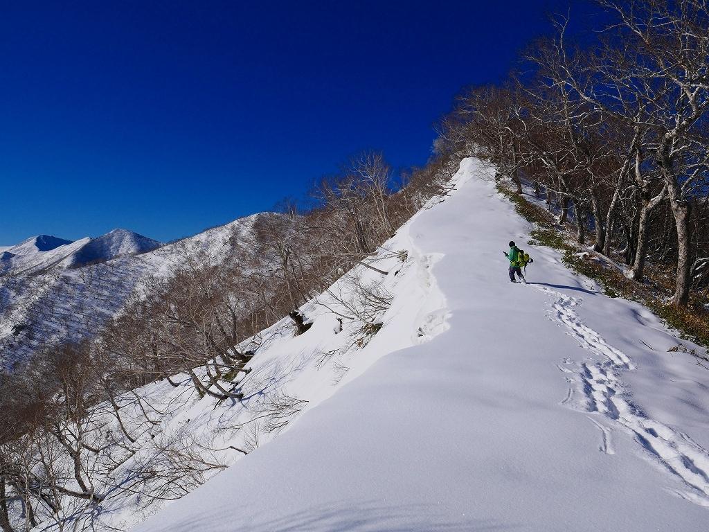 野塚岳とオムシャヌプリ、2019.4.28ーその1ー_f0138096_13453228.jpg