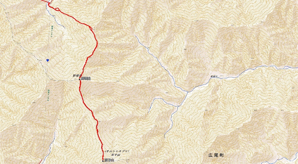 野塚岳とオムシャヌプリ、2019.4.28ーその1ー_f0138096_13474596.jpg