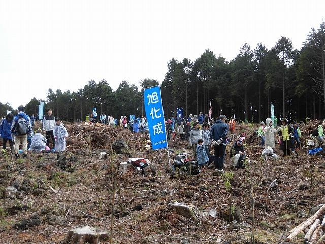 平成30年度副議長として最後の公務 「第26回 富士山麓ブナ林創造事業」に参加_f0141310_09100145.jpg