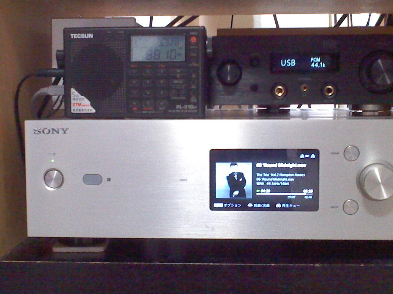 ラジオをFMチューナーに : 録音を聴く