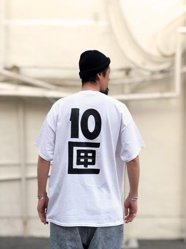 【TENBOX】J TENBOX LOGO TEE_d0227059_11074976.jpg