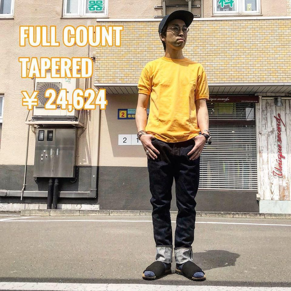 FULL COUNT(フルカウント) TAPERED_c0204678_12311879.jpg