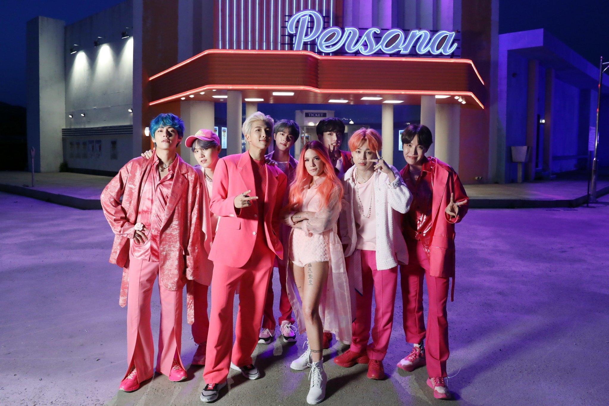 BTS「Boy With Luv [feat. Halsey]」:ボーカルはグラデーションを描き、ラップは鮮やかな色を放ち、ワールドワイドに駆け巡る_b0078188_18152215.jpg