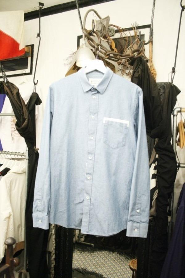 Inc Adonis Shirts Mens White Cotton Blend Signature Twill Short Sleeve Dress Shirt