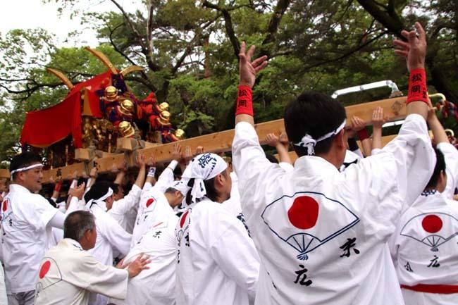 御霊神社神輿 京都御所参内_e0048413_21451322.jpg