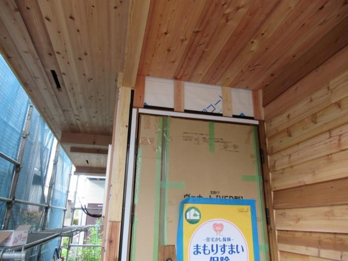座間市栗原の家☆外壁と軒下の木貼り!_c0152341_17343620.jpg
