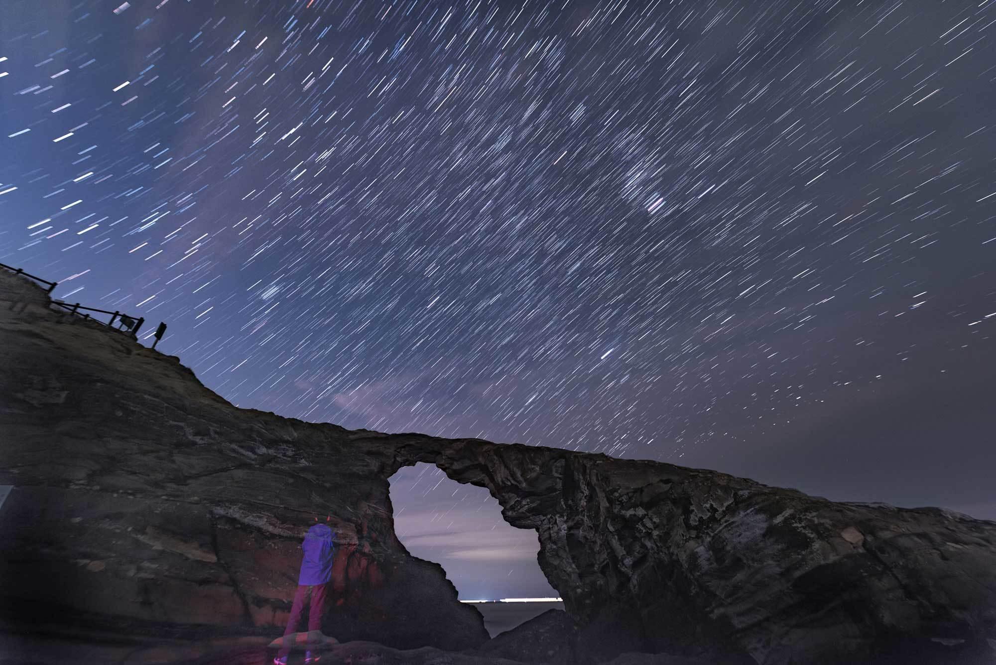 使用記〜城ヶ島 馬の背洞門で星景写真_b0400557_22262975.jpg