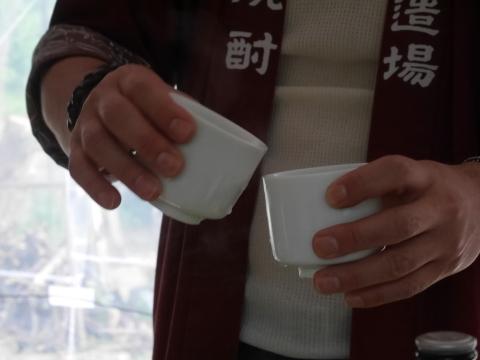 たけちゃんの炭火焼肴に球磨焼酎「武者返し」痛飲4・30_c0014967_09030414.jpg
