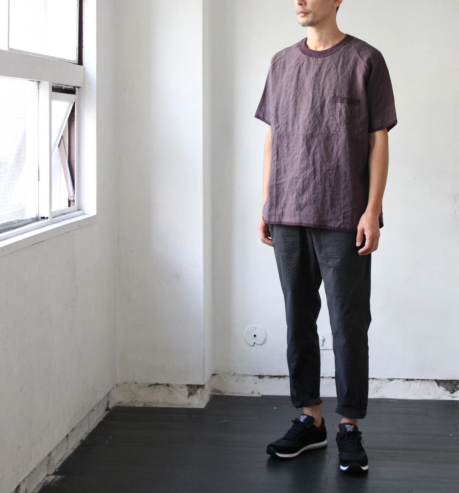 French Linen T-shirt_c0379477_05420914.jpg