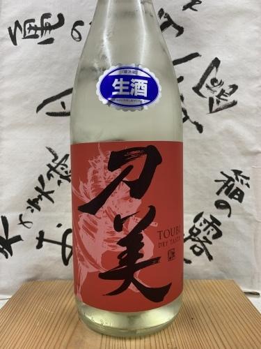 日本酒「刀美 純米 生 大辛口」吉祥寺の酒屋より_f0205182_15502549.jpg