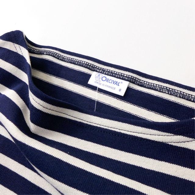 ORCIVAL [オーチバル・オーシバル] COTTON LOURD VASQUE BORDER [B211] バスクシャツ ボーダーカットソー 長袖Tシャツ MEN\'S/LADY\'S_f0051306_15182415.jpg