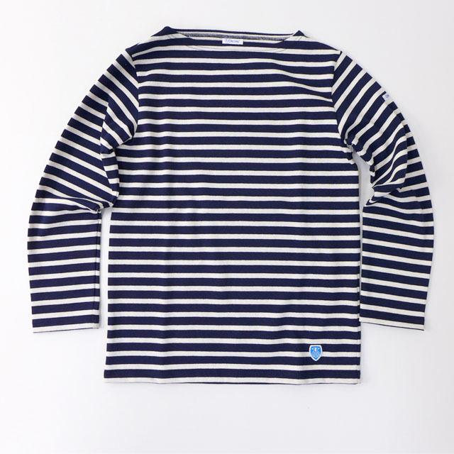 ORCIVAL [オーチバル・オーシバル] COTTON LOURD VASQUE BORDER [B211] バスクシャツ ボーダーカットソー 長袖Tシャツ MEN\'S/LADY\'S_f0051306_15182419.jpg