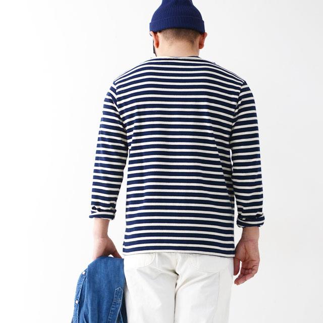 ORCIVAL [オーチバル・オーシバル] COTTON LOURD VASQUE BORDER [B211] バスクシャツ ボーダーカットソー 長袖Tシャツ MEN\'S/LADY\'S_f0051306_15182482.jpg