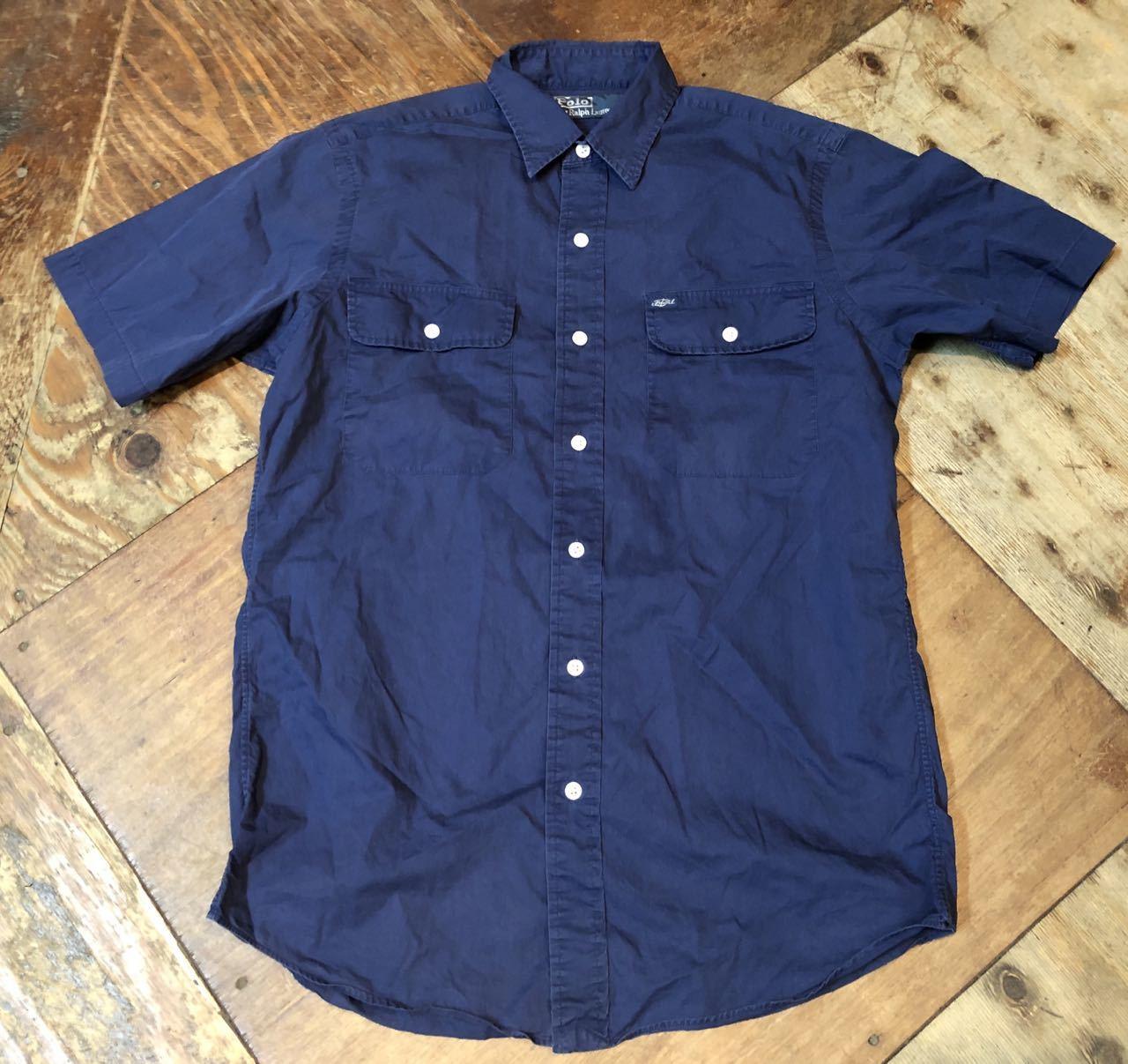 5月3日(金)入荷! POLO RALPH LAUREN コットンサテンシャツ!_c0144020_19335009.jpg