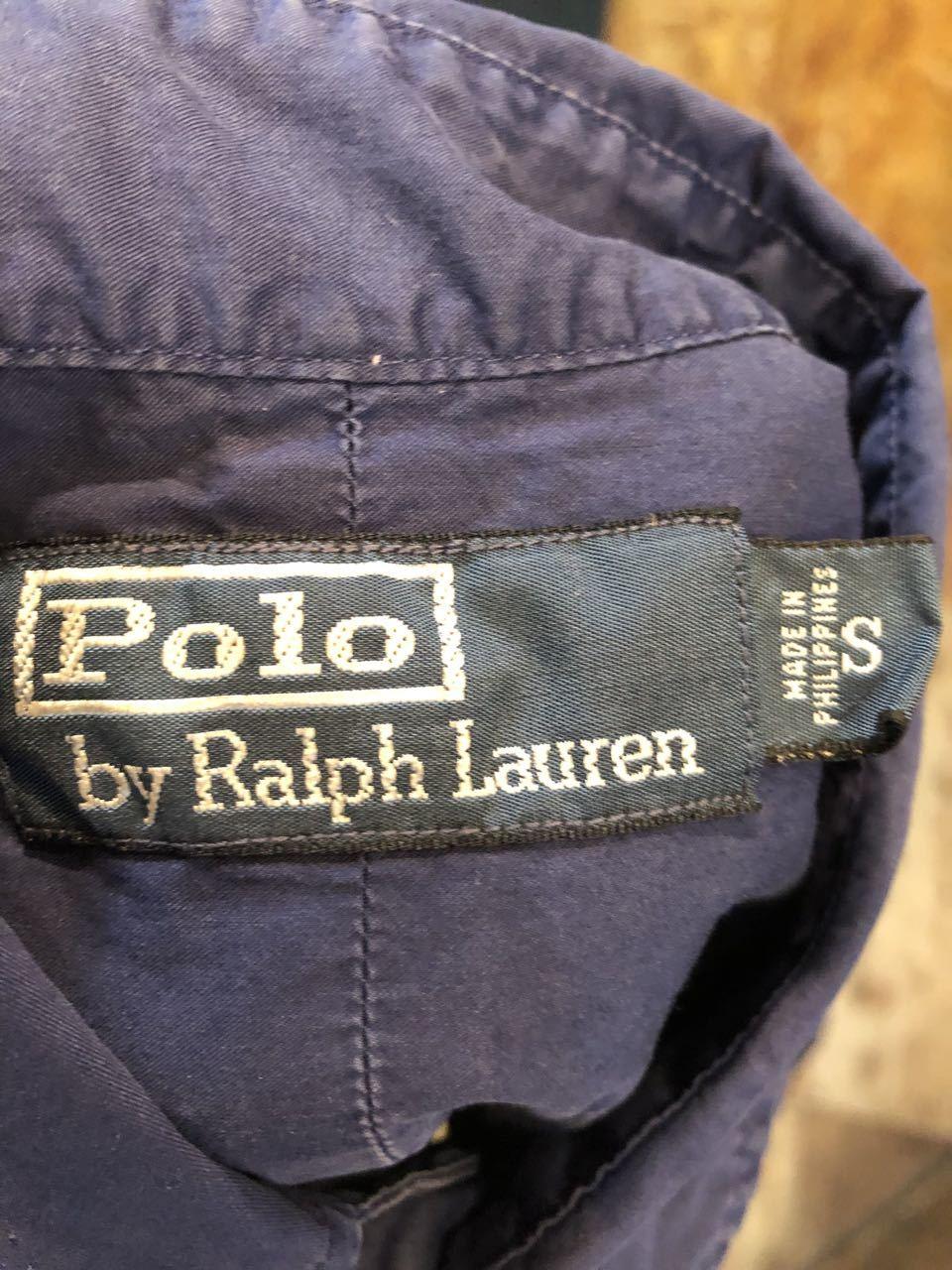 5月3日(金)入荷! POLO RALPH LAUREN コットンサテンシャツ!_c0144020_19335438.jpg