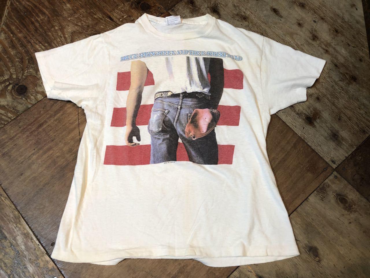 5月3日(金)入荷!1984年 HANES  BRUCE SPRING STEEN ブルーススプリングスティーン Tシャツ! _c0144020_19414652.jpg