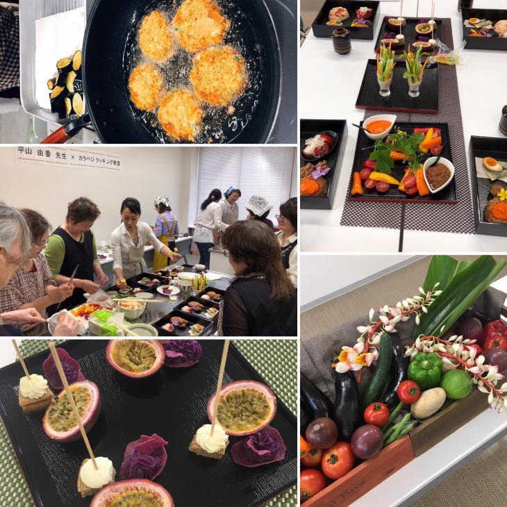 沖縄 カラベシ料理教室_e0134337_13051104.jpg