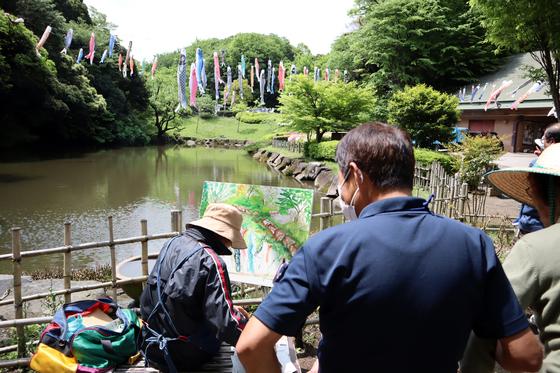 外出レク ~ 2019 鯉のぼり森林浴週間 ~_e0222340_14442121.jpg