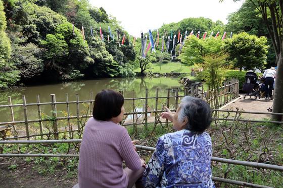 外出レク ~ 2019 鯉のぼり森林浴週間 ~_e0222340_14462646.jpg