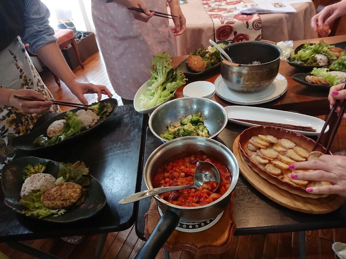 5月の料理教室が始まりました。_f0323446_22562515.jpg
