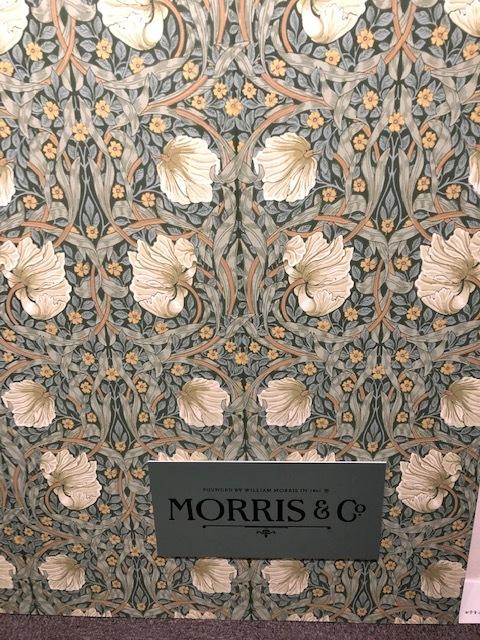 ウィリアム・モリスと英国の壁紙展 ウィリアムモリス正規販売店のブライト_c0157866_18063442.jpg