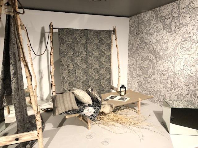 ウィリアム・モリスと英国の壁紙展 ウィリアムモリス正規販売店のブライト_c0157866_18064260.jpg